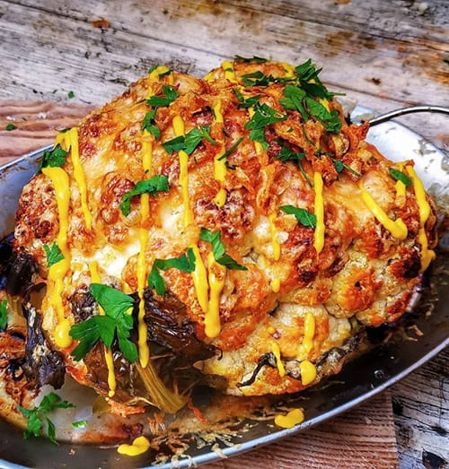 cauliflower-baked